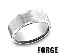 Gents Colbalt Chrome Wedding Bands by Benchmark