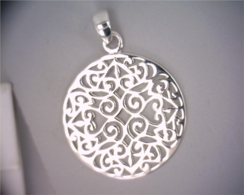 Pendant with chain by Southern Gates